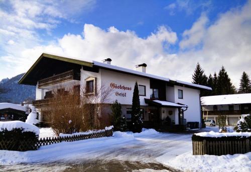 Booking - Gästehaus Geist
