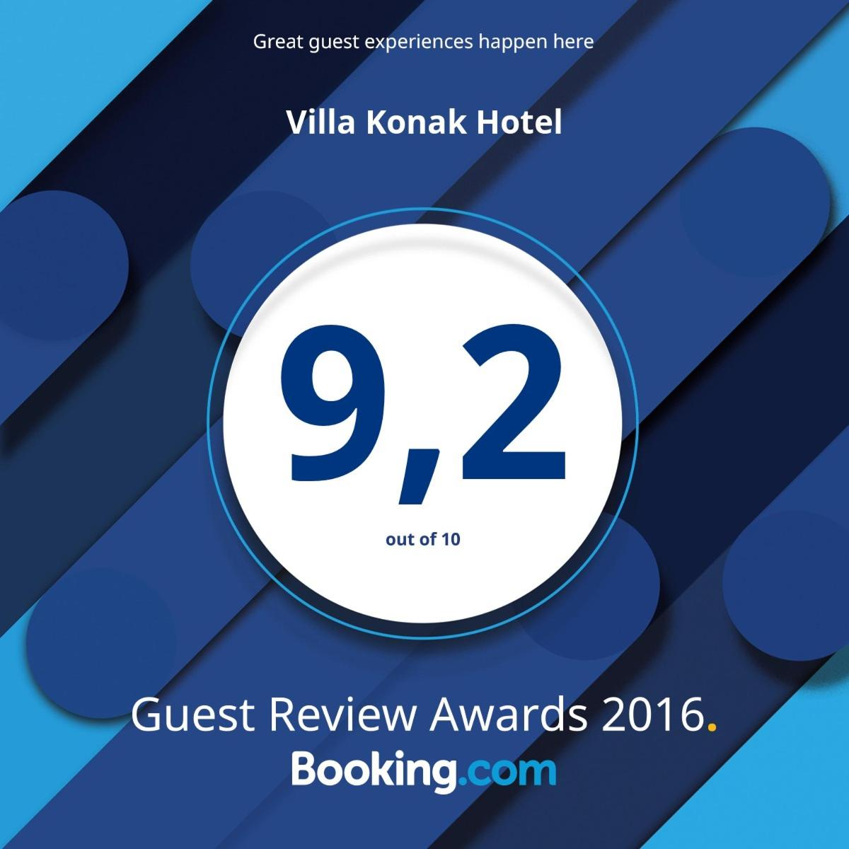 Guest Review Awards 2016 - Booking.com