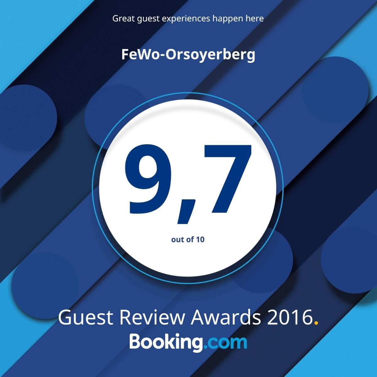 Guest Review Awards 2016