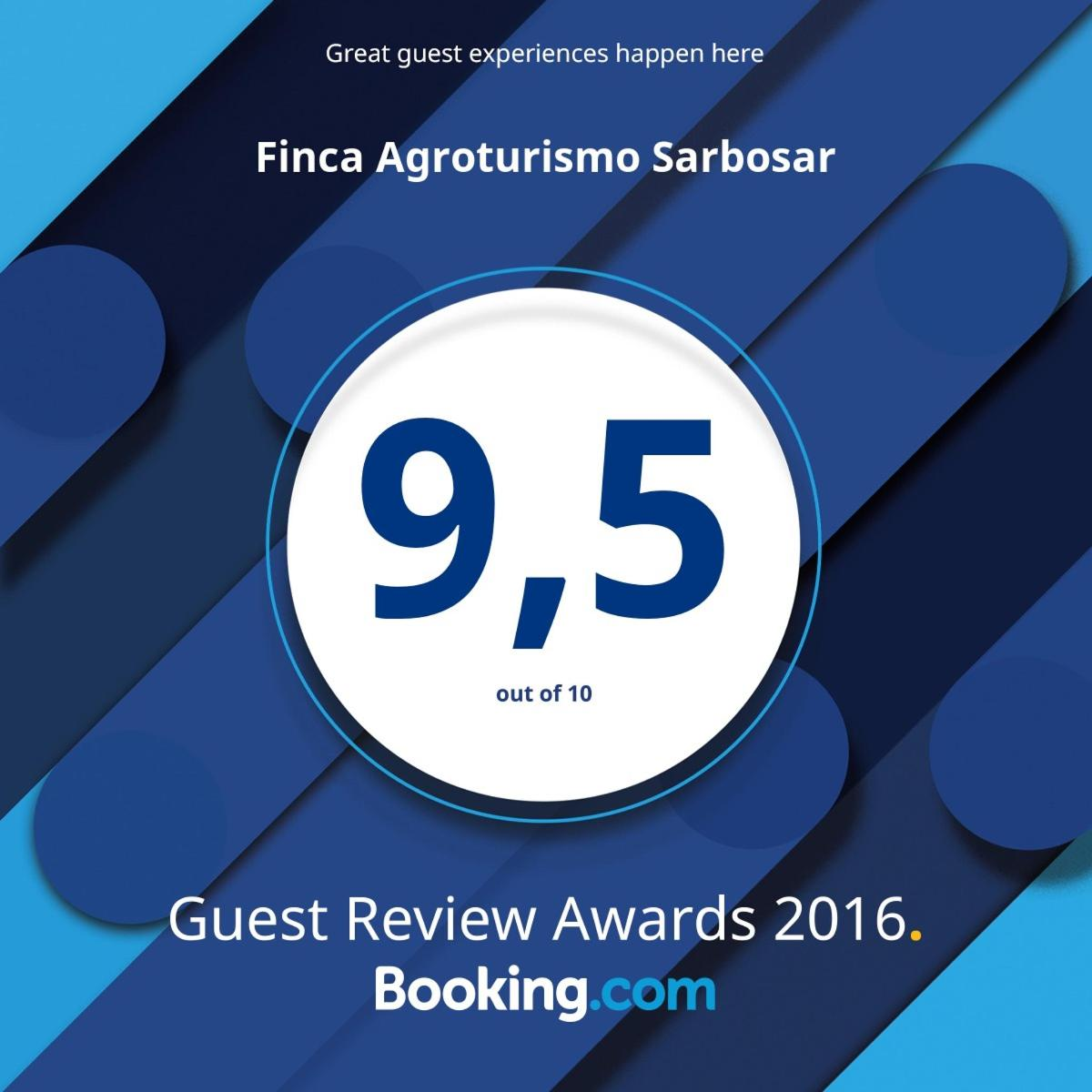 Guest review awards 2016: 9,5